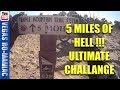 5 MILES OF HELL, MOAB UT, ALL HARD obstacles, Full TRAIL VIDEO on KTM250XC 2 Stroke
