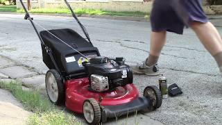 Fix 90% of Briggs lawn mower not starting problems. Easy repair.