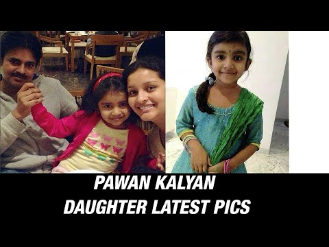 Pawan Kalyan Daughter Aadhya Konidala Unseen / Rare Photos Photo,Image,Pics