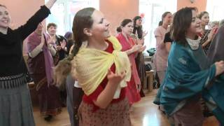 2010.04.04. Sunday Program Arati Kirtan - Riga, LATVIA