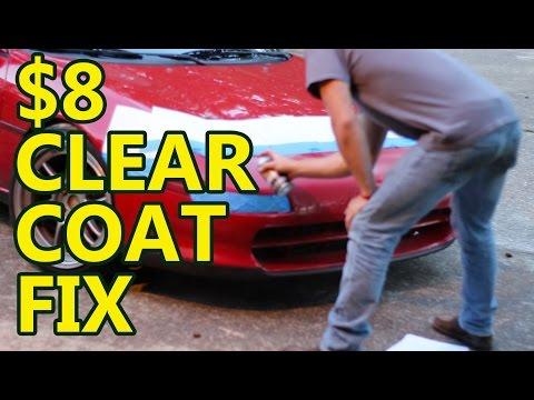 DIY Car Projects: $8 clear coat fix
