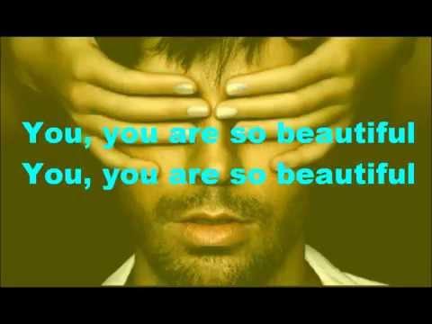 Enrique Iglesias - Beautiful ft. Kylie Minogue ( Lyrics )