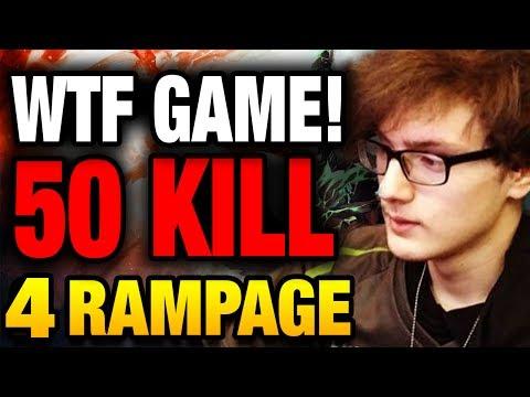 Miracle- CRAZY 50 Kill WTF INSANE 4 RAMPAGE Dota 2