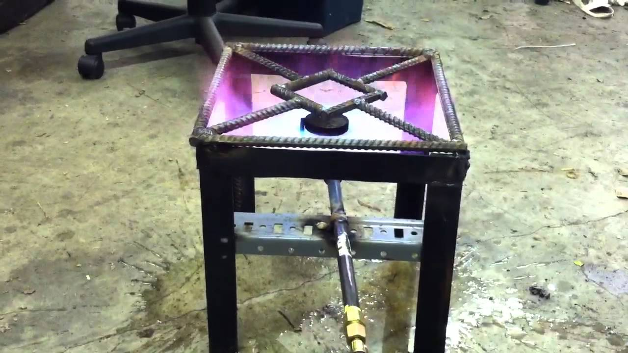 Homemade Zerk Propane Burner Youtube