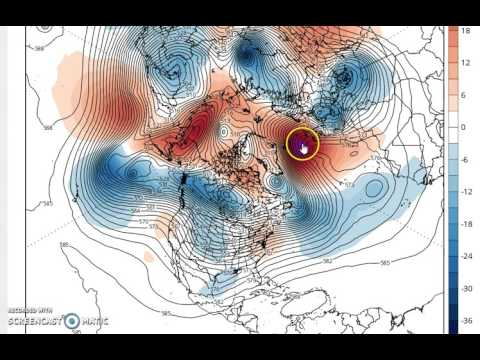 Arctic Region Burning Up Aloft As Polar Vortex Is Destroyed