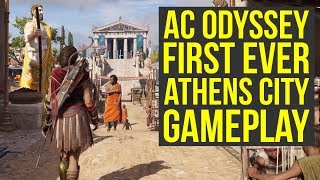 Assassin's Creed Odyssey Gameplay Athens FIRST LOOK & New Info! (AC Odyssey Gameplay)