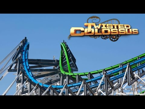 Check out Six Flags Magic Mountains progress on Twisted Colossus and SCREAM! Scream is now totally repainted except for some piece of the station. Twisted colossus makes a lot progress since...