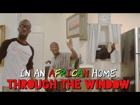 In An African Home: Through The Window
