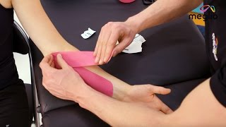 Kinesiology Tape for Golfer's elbow