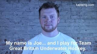 The Underwater Hockey Player   Subtitled