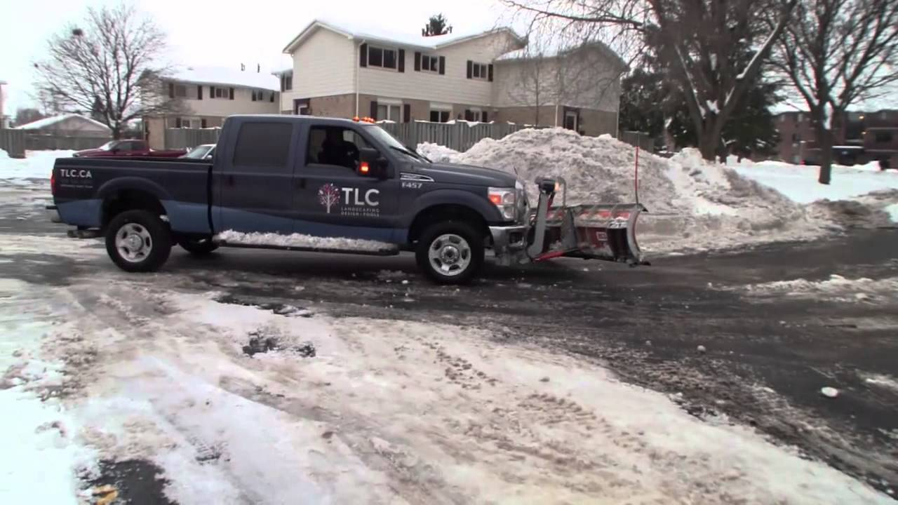 Ford F 150 Snow Plow >> Ford F250 Plow Truck - YouTube