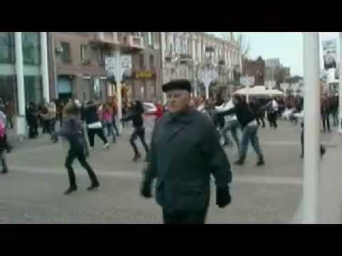Flashmob Backstreet Boys in Ukraine