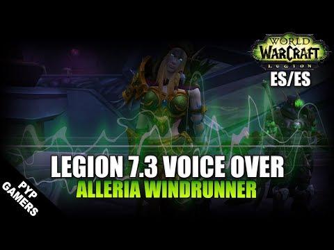 VoiceOver Parche 7.3: Alleria Brisaveloz ES/ES | World of Warcraft: Legion