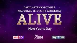 Natural History Museum Alive with David Attenborough. Official trailer