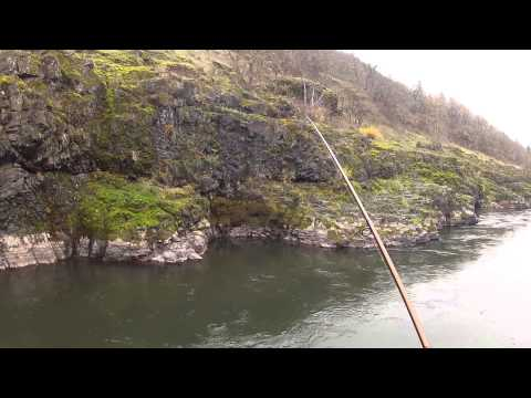 Fishing the Klickitat River-Go Pro Test-Medium view angle