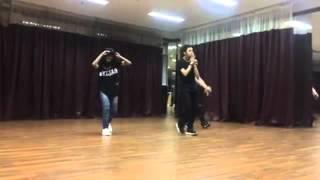Bastian Steel Latihan Dance Untuk VC Juara DiHati