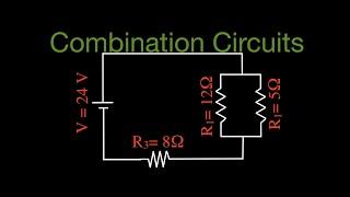 Resistors in Electric Circuits (9 of 16) Combination Resistors No. 1