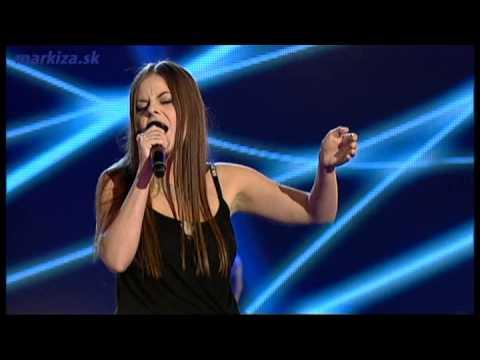 Hlas Česko Slovenska - Lucie Bakešová - Demi Lovato - Skyscraper video