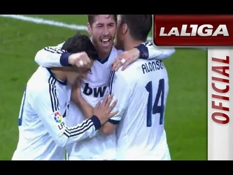 La Liga | Real Madrid - Athletic Club (5-1) | 17-11-2012 | J12 | Resumen