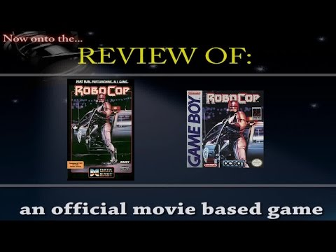 Movies to Video Games Review - Robocop (C64 & Gameboy)