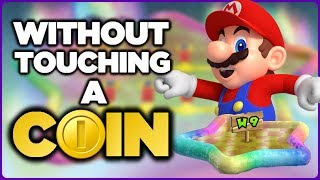 Is it possible to beat World 9 in New Super Mario Bros. Wii without touching a single coin?