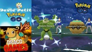 COMBATES SOLO con SHINIES (SHINY CUP) en LIGA SUPER CONTRA DAVIDPETIT !! - Pokemon Go