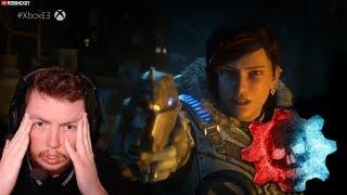 Gears of War 5 E3 2018 REACTION To Trailers! (Gears of War 5 E3 2018)