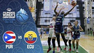 Puerto Rico v Ecuador - FIBA U16 Women's Americas Championship 2019