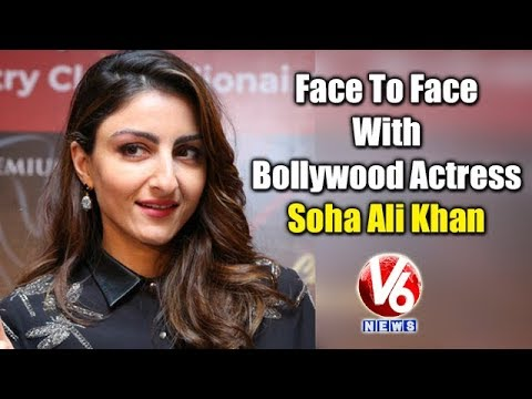 Face To Face With Bollywood Actress Soha Ali Khan, Shares Her Memories With Hyderabad | V6 News