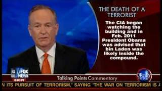 The O'Reilly Factor day after Osama bin Laden's death