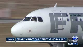 Summer strike threat looms at Frontier Airlines; pilots say it's a last resort