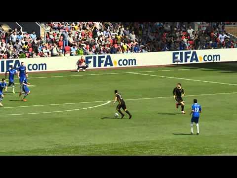 Goal from Dani Alves very far | By Alwesalva Fifa 15 Demo