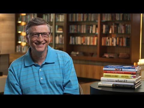 Summer Book List from Bill Gates