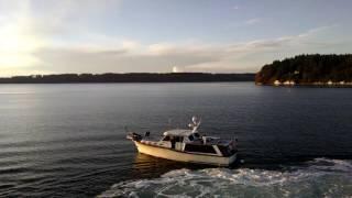 Washington State Ferry hits a boat near Vashon Island