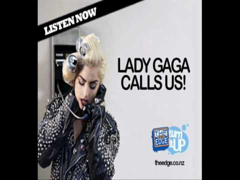 Lady Gaga calls The Edge radio station in New Zealand