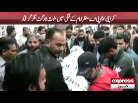 Manzar Imam killer got arrested by Rangers in Karachi