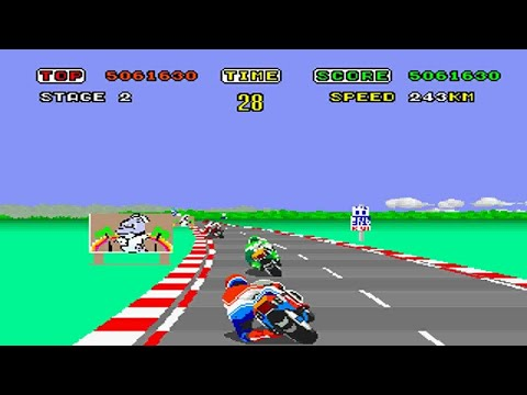 History of Racing Video Games - Part 1 Music Videos
