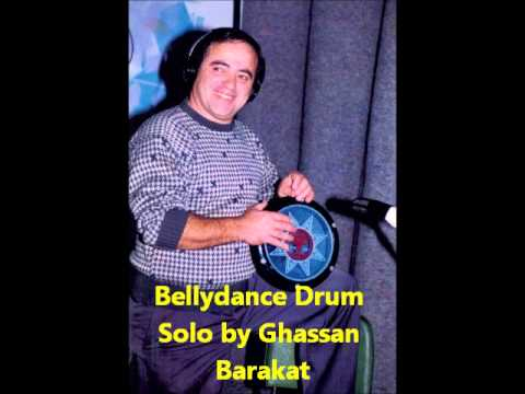 Ghassan Barakat records a belly dance drum solo.