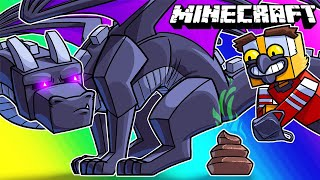 Minecraft Funny Moments - Ender Dragon Turd Hunt