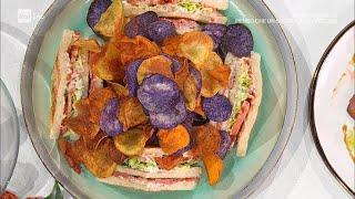 Club sandwich al roast beef- E' sempre Mezzogiorno 11/01/2021