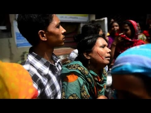 Bangladesh police storm garment workers on hunger strike