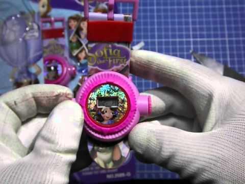 Распаковка - Часы детские с проектором принцессы