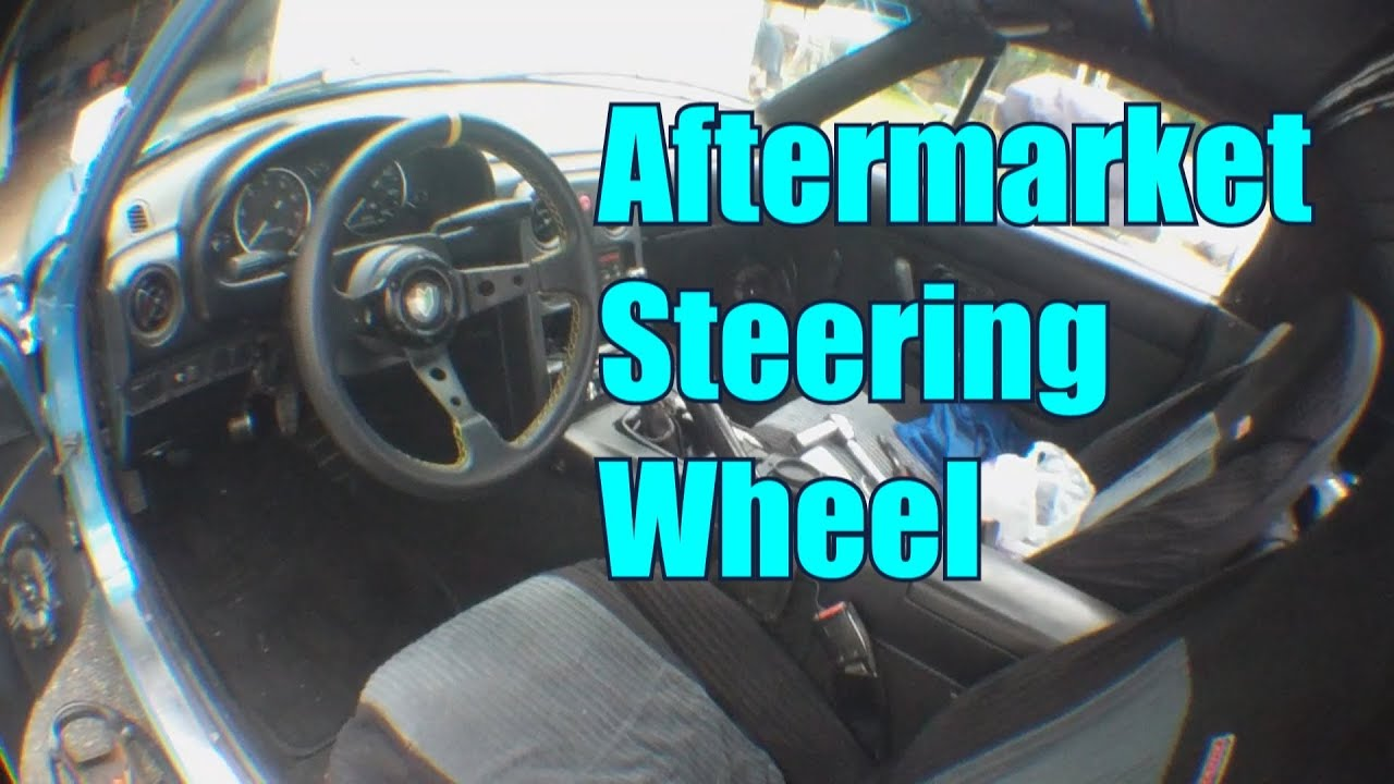 How To Install An Aftermarket Steering Wheel    Haggard