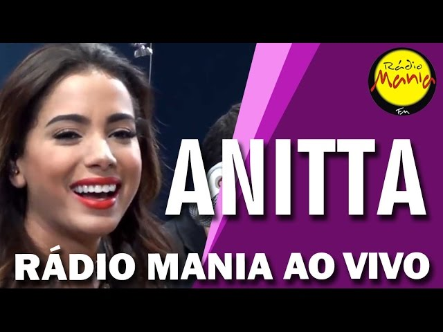 Rádio Mania - Anitta - Mulher