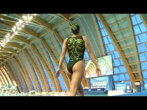 Final Solo Spain - FINA World Junior Synchronised Swimming Championships 2016