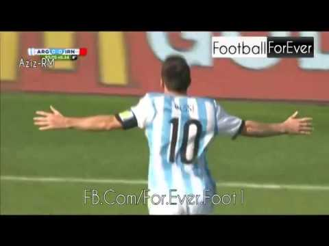 Lionel Messi Goal VS Iran 2014 WC [90+1 Minute]