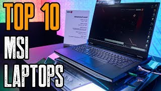 TOP 10: NEW MSI Gaming Laptops 2019!