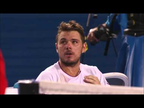 Controversy in Australian Open 2014 Men's Final between Stan Wawrinka and Rafa Nadal