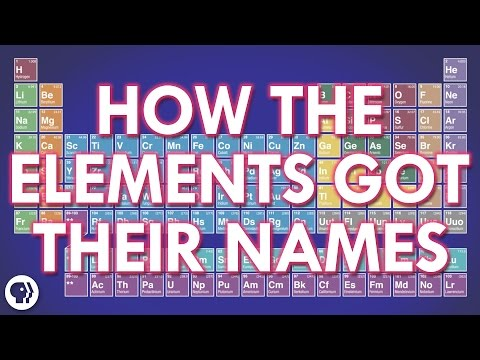How The Elements Got Their Names | It's Okay To Be Smart | PBS Digital Studios