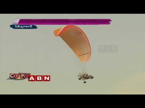 Paramotoring Event organized by Tourism Department | Secunderabad.